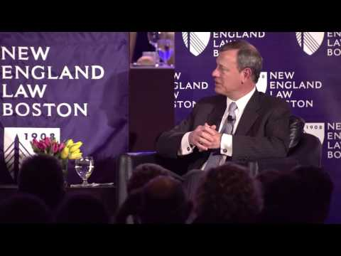 Dean O'Brien's conversation with Chief Justice Roberts
