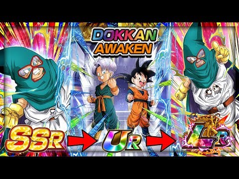 AWAKENING START TO FINISH LR GOTEN AND TRUNKS! Dragon Ball Z Dokkan Battle