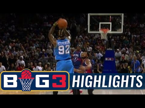Tri-State vs Power | BIG3 HIGHLIGHTS
