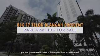 For Sale: Telok Blangah Crescent Blk 17 (5RM Flat)