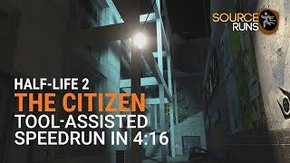 Half-Life 2: The Citizen TAS in 4:16.5 by Rama