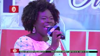 ABIGAIL GYAMFI PERFORMS  Nyame Mmere Ne Mere Pa BY ERIC AGYEAMAN.