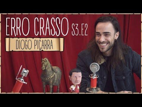 Erro Crasso T3 Ep2 - DIOGO PIÇARRA fala com sotaque algarvio, bebe shots de vodka e canta Dillaz.