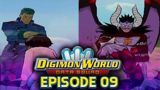 Digimon World Data Squad - Ep 9 -  DATS Headquarters Entrance  & Creepymon Boss!
