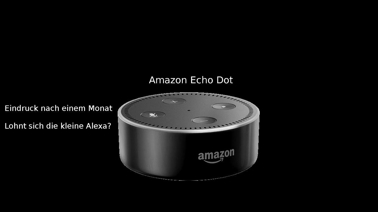 Amazon Echo Erfahrung : amazon echo dot erfahrung nach einem monat micatech ~ Lizthompson.info Haus und Dekorationen