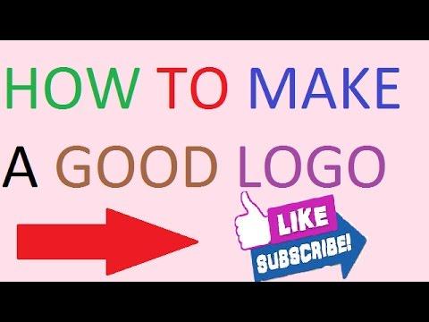 how to make a logo for youtube channel/logo design/logo maker ...