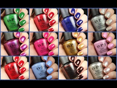 OPI The Nutcracker and the Four Realms | Holiday 2018