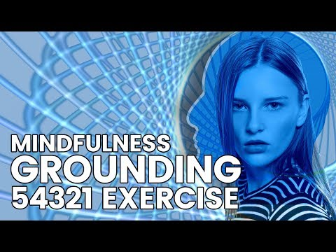5-4-3-2-1 Grounding Mindfulness Activity for Anxiety