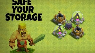 Clash of clans - town hall 7 farming base / (th7) farming base 2017 safe your storage