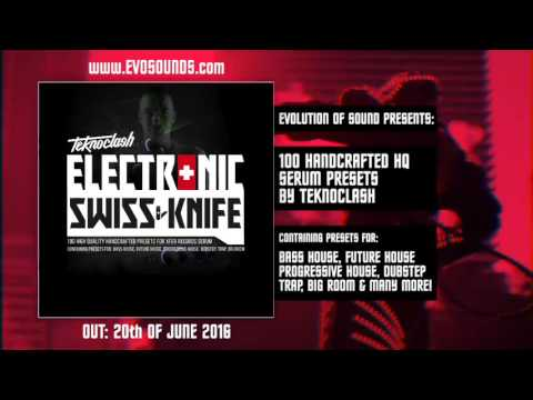 Evolution Of Sound Presents Electronic Swiss Knife Vol 1 For Serum