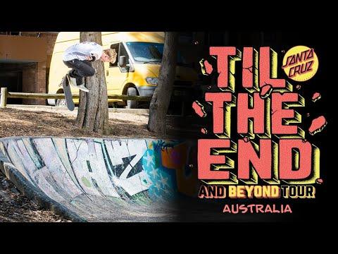 Get in the Santa Cruz Team Van! Til The End And Beyond Tour: Australia 2019