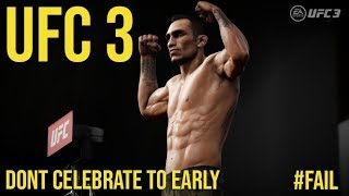 EA Sports UFC 3 | Don't celebrate too early!