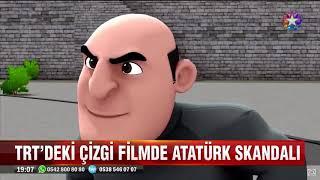 TRTdeki istanbul muhafızları çizgifilmde ATATÜRK skandalı