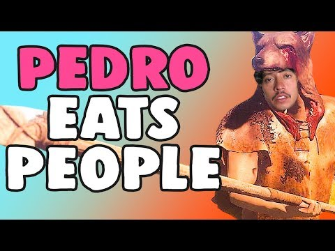 PEDRO EATS HUMAN IN RUST | Hilarious Duo Encounters with Raiders | Rust