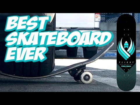 BEST SKATEBOARD EVER ??? POWELL FLIGHT BOARD UNBOXING AND SK
