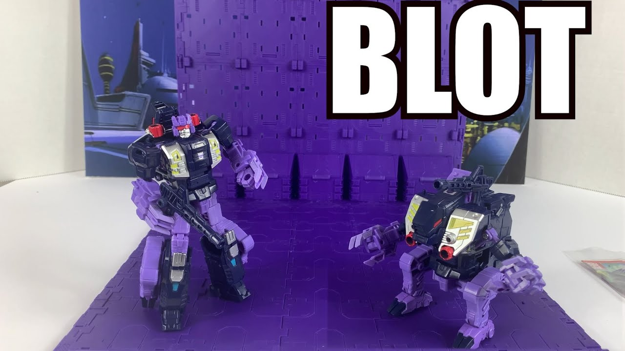 Power of the Primes Terrorcon Blot Unboxing and Review By Enewtabie