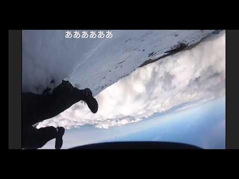 富士山の山頂付近でライブ動画配信中の男性滑落か、最後の言葉が「あっ滑る」ニコニコ動画  Mount Fuji climber falls while live-streaming expedition