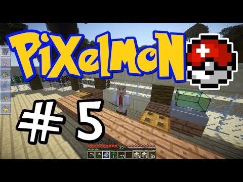 "Minecraft Pixelmon - E05 ""Palm Beach PokeCenter!"" (Pokemon Mod for Minecraft!)"