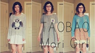 Video TAOBAO HAUL ♣ Mori Girl Inspired download MP3, 3GP, MP4, WEBM, AVI, FLV Maret 2018