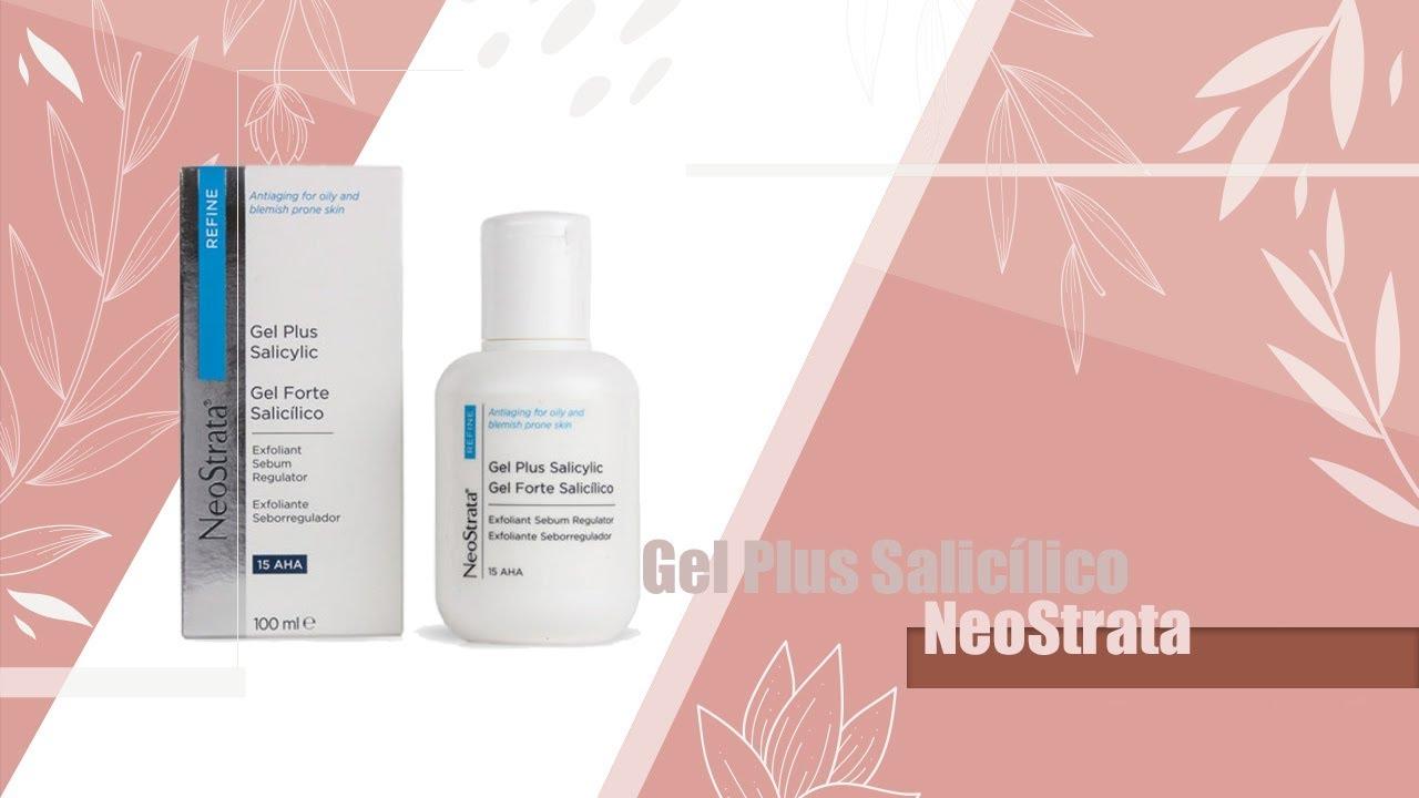 Resenha Gel Plus Neostrata ácido Salicílico ácido Glicólico Youtube