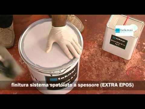 Pavimenti in resina posa finiture per spatolato youtube