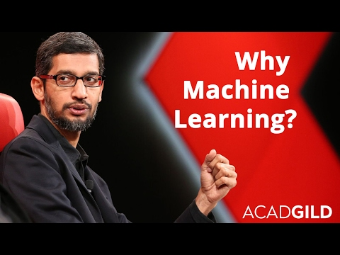 Why Machine Learning is The Future?   Sundar Pichai Talks About Machine Learning