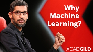 Why Machine Learning is The Future? | Sundar Pichai Talks About Machine Learning
