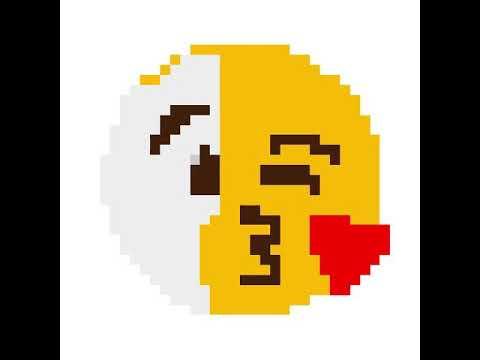 Emoji Blowing A Kiss.