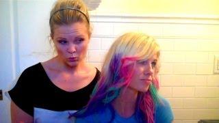 Rainbow Chalk Highlights!