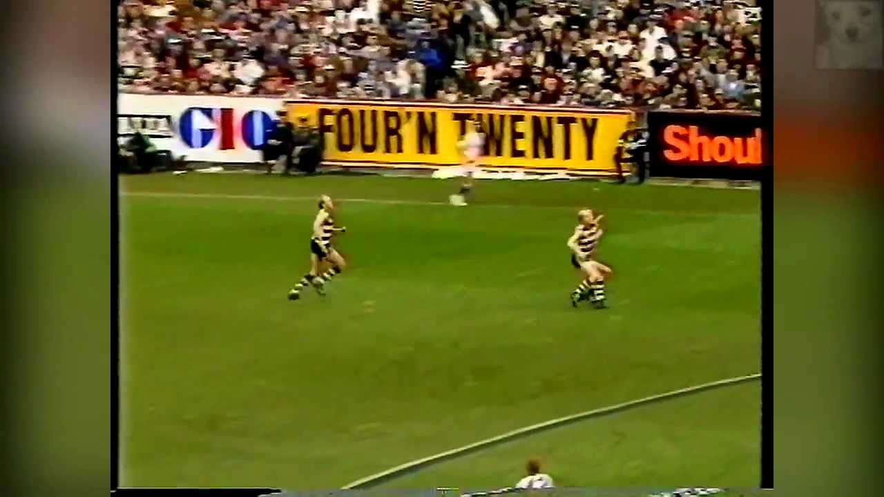 West Coast Eagles Vs Geelong Afl Grand Final 1994 First