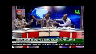 ABRONYE MEETS HIS METER, ATTACKS NDC MAN ON LIVE TV SHOW