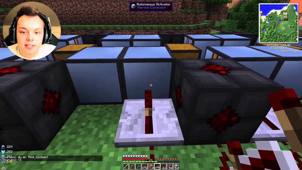 Automatisk Nether Quartz Farm Horizon Ftb Norsk Minecraft Youtube