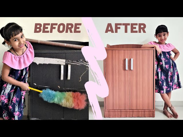 How to make old furniture look new again  | BEFORE and AFTER old furniture makeover |DIY |REPURPOSE