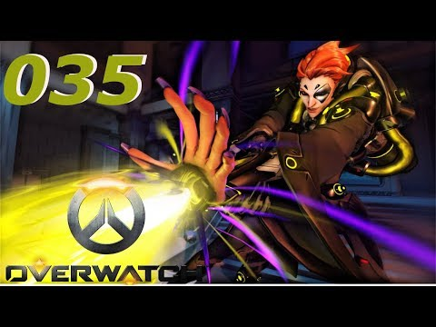 lets play overwatch  german  035 genetik mit moira! und koop action mit freezy!