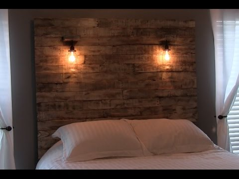 HEADBOARD WITH LIGHTS - HOW TO