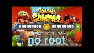 How To Get Unlimited Keys And Coins In Subway Surfers Android ( 100% Working ) 2016-2017