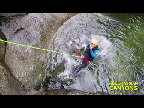 ENJOY A DAY OUT CANYONING IN TORRENT RIVER WITH ABEL TASMAN CANYONS