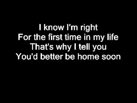 Better be home soon by Crowded House