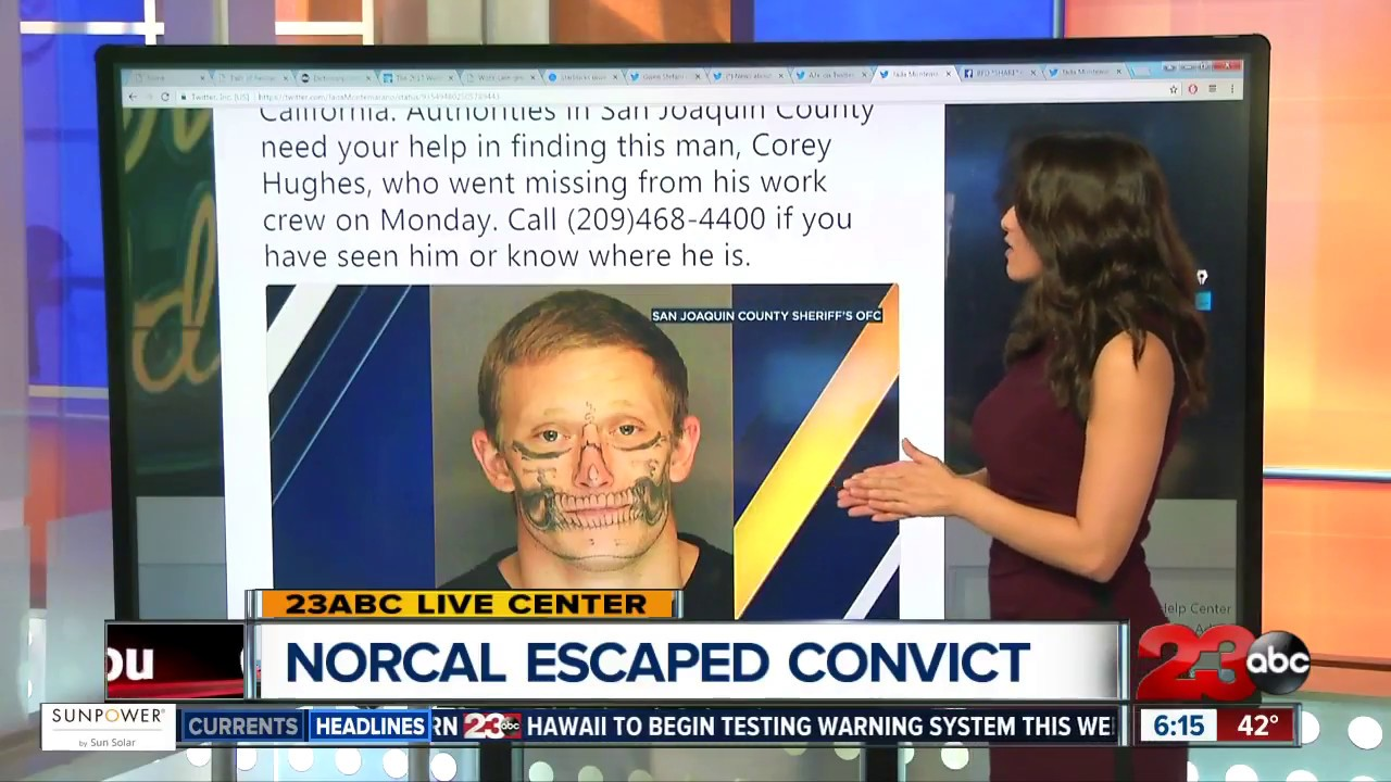 Northern California Inmate Escapes