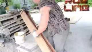 Как сделать много бетонных столбов одной формой(В данном видео показано два способа заливки большого количества бетонных столбов одной формой. Этот способ..., 2015-06-10T04:44:09.000Z)