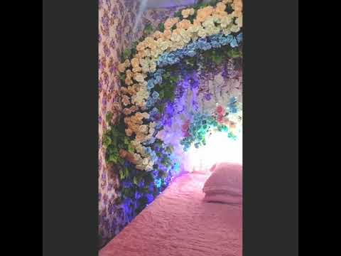 dekorasion kamar pengantin - youtube