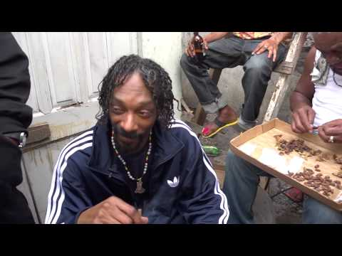 REINCARNATED Snoop Lion Walks Through & Connects with The People of Tivoli Gardens 2013