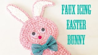Faux Icing Easter Bunny
