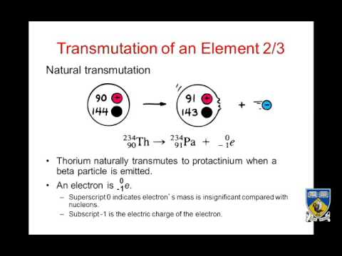 Nucleii & Radioactivity - Lecture 2