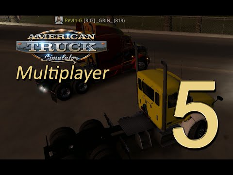 ATS Multiplayer #5 - Weird time cycle