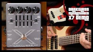 Darkglass Microtubes X7 Bass Demo