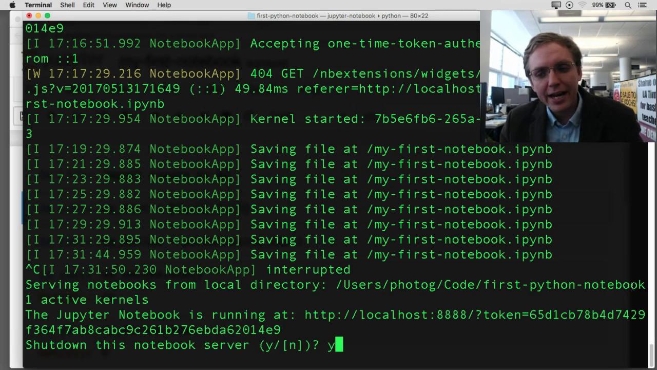 Chapter 3: Hello pandas — First Python Notebook 1 0