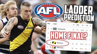 Predicting the Final AFL LADDER
