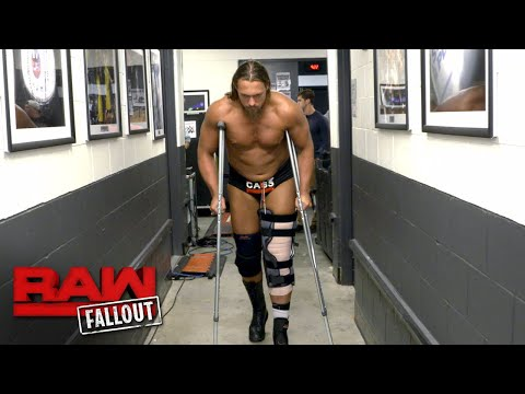 An injured Big Cass leaves Raw on crutches: Raw Fallout, Aug. 21, 2017