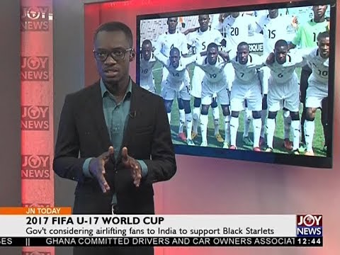 2017 FIFA U 17 World Cup   Joy Sports Today 20 9 17